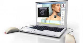 SIMTICS online simulation of ultrasound scanning